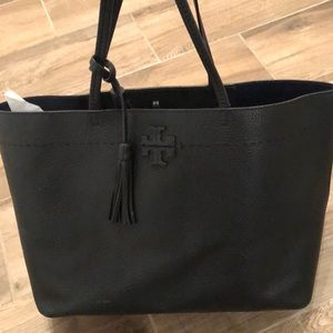 Authentic Tory Burch McGraw Tote